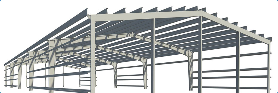 Peb bare structure fast construction for Pre engineered house plans